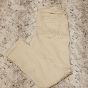 Maurices tan jeggings